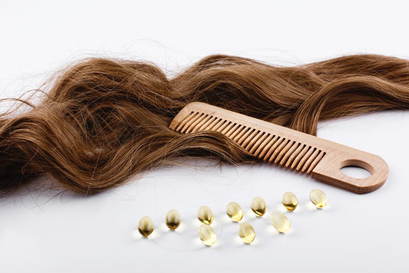 oil capsules hair