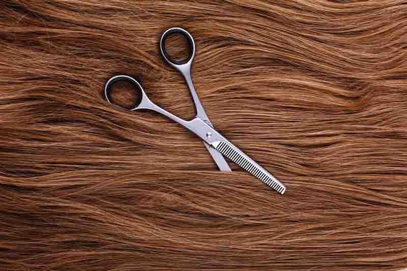 Steel scissors